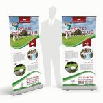 Golf Club Rollup Banner