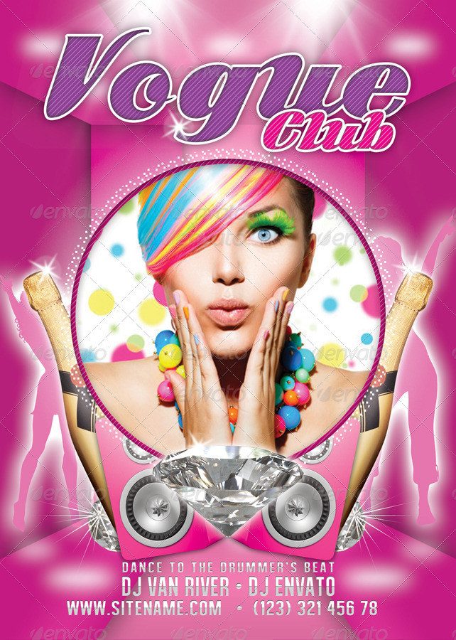 Vogue Club Flyer Template