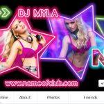 Neon Party Facebook
