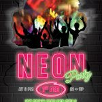 Neon Night Flyer Template