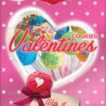 Valentines Cookies Flyer Template