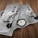 Bodybuilding Trifold Brochure Template