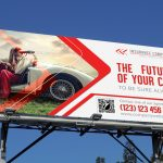 Auto Insurance Outdoor Banner
