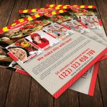 Big Mama Pizza Flyer Template