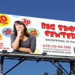 Big Shop Outdoor banner
