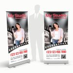 Photo Studio Rollup Banner