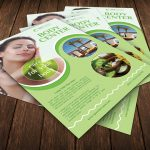 Spa Body Center Flyer Template