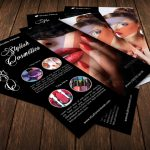 Stylish Cosmetics Flyer Template