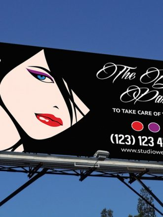 The Beauty Parlor Studio Outdoor banner