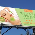 Wellness and Spa Outdoor Banner