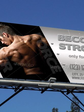 Fitness Center Outdoor Banner