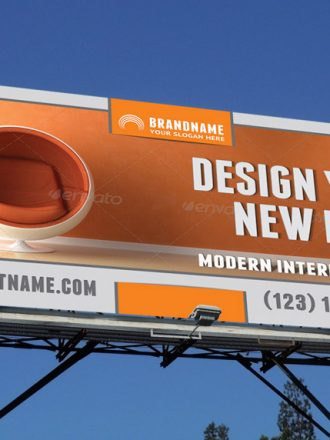 Interior Design Outdoor Banner