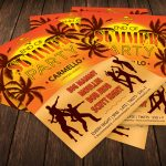 Summer Night Party Flyer Template